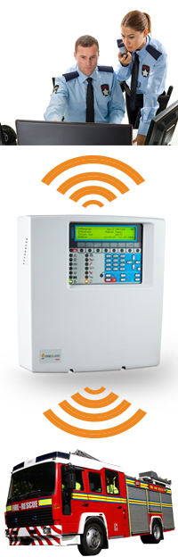 FireClass PSTN interface for the Addressable FC501 Fire Alarm Control Panel