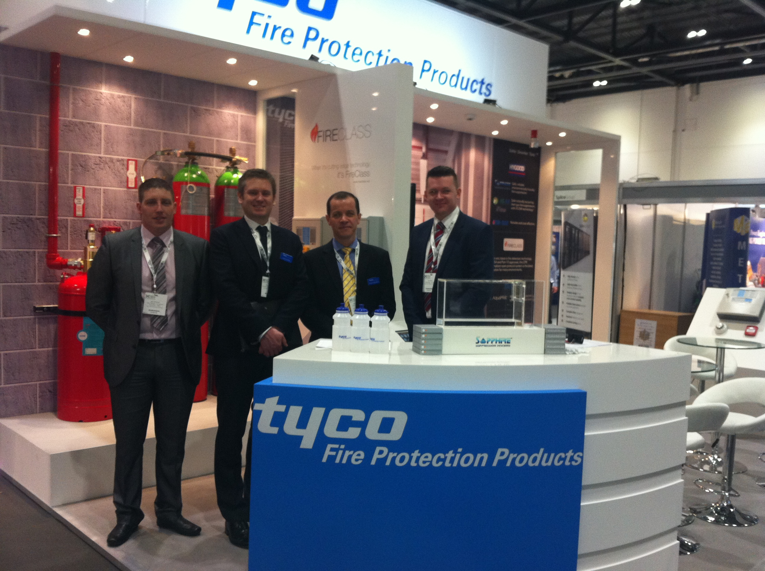 Tyco Fire Protection Products at Data Centre World